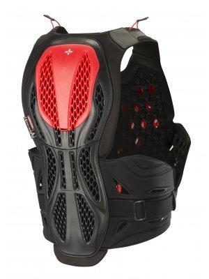 Armura Alpinestars Bionic Plus Protection Vest Negru/Rosu XS/S