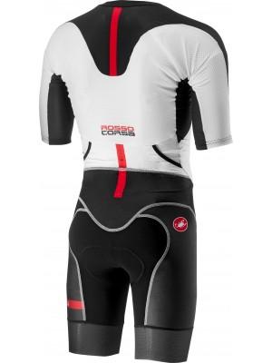 Costum Triatlon Castelli All Out Speed Negru/Alb L