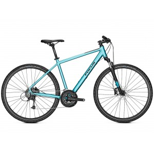 Bicicleta Focus Crater Lake 3.8 DI 27G icebluematt 2019 - 500mm (M)
