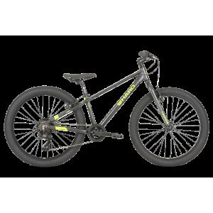 Bicicleta Haro Flightline 24 Plus 305mm Negru/Verde Neon 2019