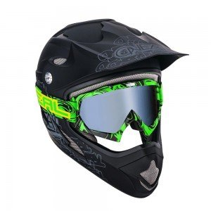 B-Flex HENDRIX negru/verde transparent