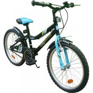 Bicicleta copii Robike Ronny 20 negru/albastru