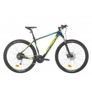 Bicicleta Sprint Ultimate Carbon 29 380mm Negru/Verde/Albastru