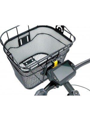 Cos fata metal negru compatibil e-bike